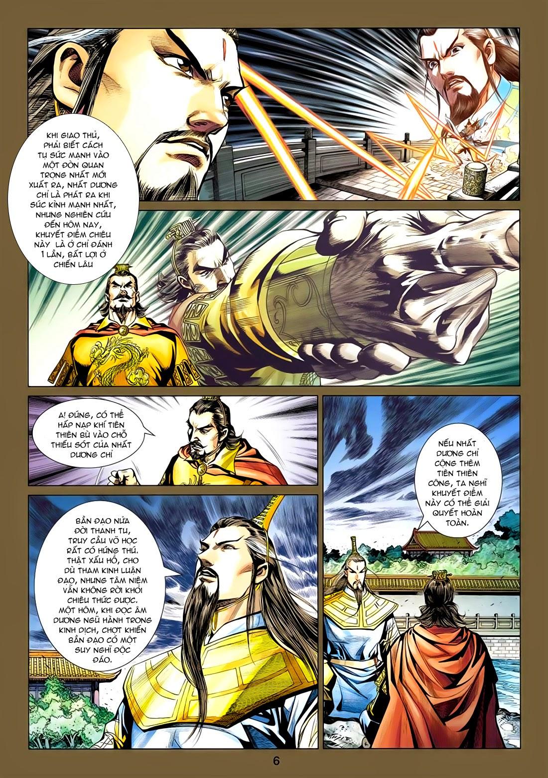 Anh Hùng Xạ Điêu anh hùng xạ đêu chap 77: thế thượng tối cường võ công trang 6