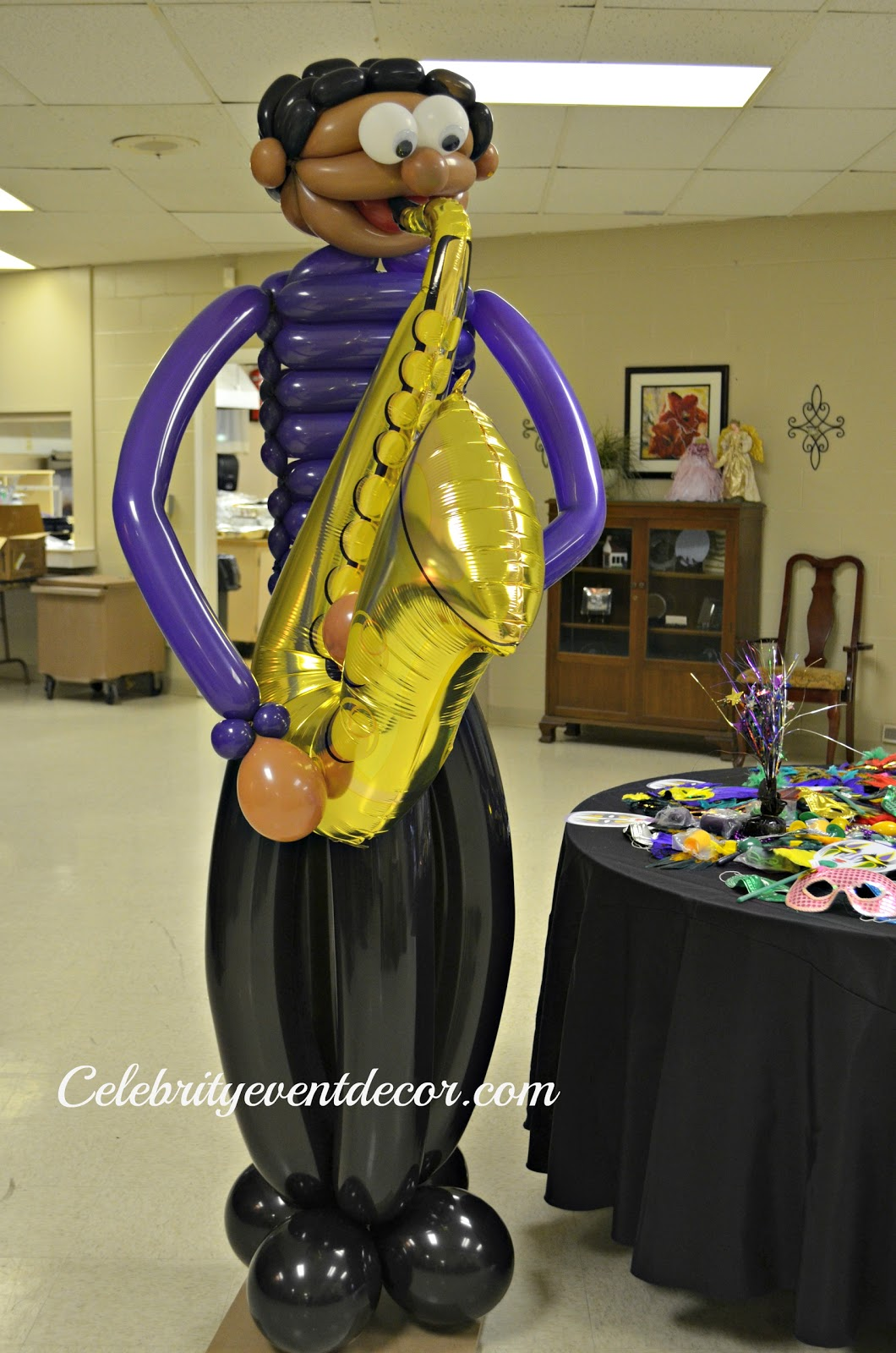 10 ft. 6 in. Mardi Gras Madness Balloon Arch - Walmart.com