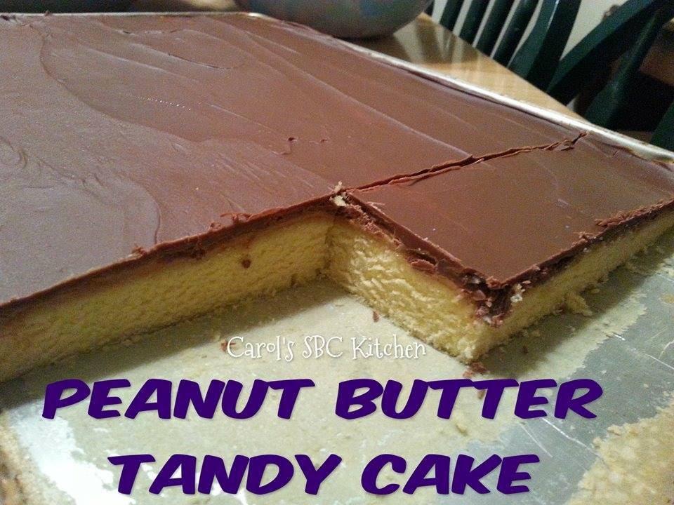 Peanut Butter Tandy Cake Bars