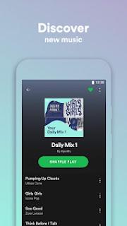 تحميل تطبيق Spotify Lite v0.12.46.51 (Ad-Free) Apk