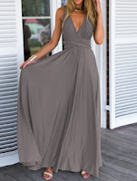 http://www.romwe.com/Grey-Deep-V-Neck-Self-Tie-Maxi-Dress-p-147818-cat-724.html?utm_source=beautybygaby.blogspot.com&utm_medium=blogger&url_from=beautybygaby