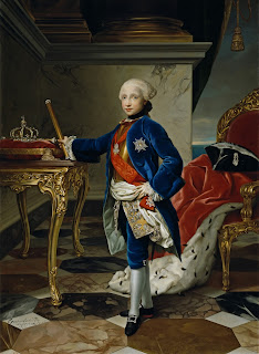Ferdinand IV of Naples as a boy, painted by the German painter Anton Raphel Mengs