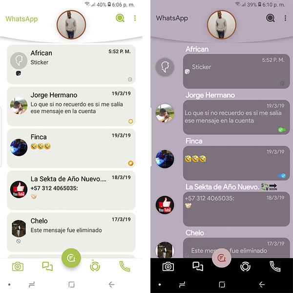 WhatsApp Aero apk para Android