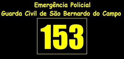 GCM de São Bernardo passa a atender pelo telefone 153 emergência policial