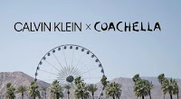 Promoção Calvin Klein X Coachella