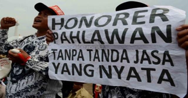 UU No. 23 Tahun 2014 Diberlakukan, Guru Honorer Terkena Imbasnya,