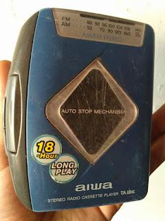 LAPAK BARANG RETRO : Jual Walkman AIWA Legend 90an