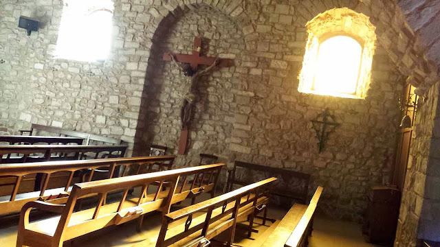 Mura y Talamanca interior iglesia