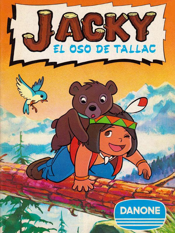 Album cromos Danone Jacky el oso de Tallac