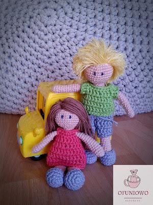 Crochet Dolls - Ofuniowo Handmade