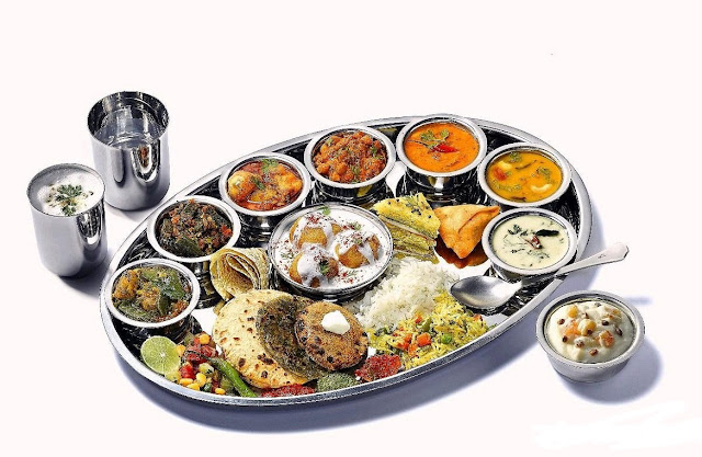 Gujarathi Thali