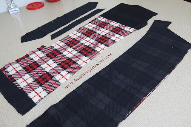 antes de empezar a coser
