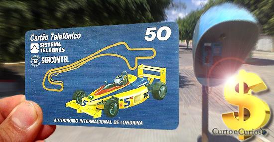 Você tem um desses - Os cartões telefônicos mais raros e caros do Brasil - Capa