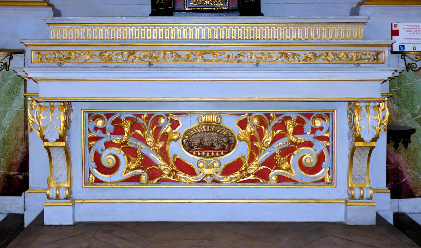 Photo Chapelle Hospice d'Havré, Tourcoing - L'autel