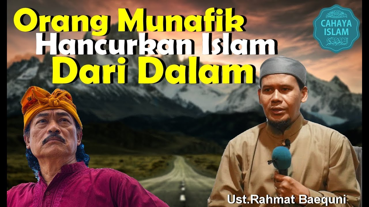 Inilah Cara Orang Munafik Menghancurkan Islam Dari Dalam Islam Sendiri