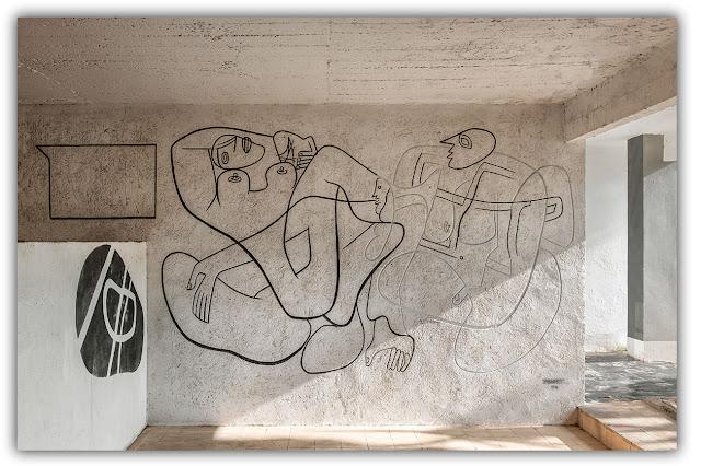 E. 1027 - Disegni Le Corbusier