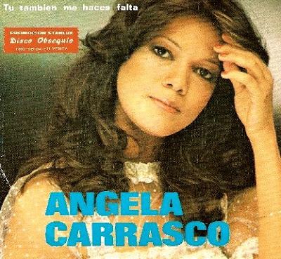 Foto de Angela Carrasco de portada de disco