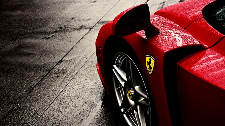 Ferrari Car Mirror Hd Wallpaper Smart Wallpapers