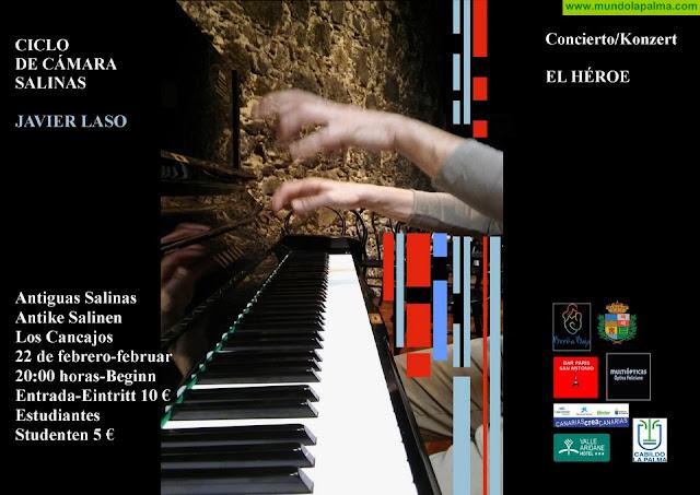 """SALINAS: """"El Héroe"""", concierto de piano"""