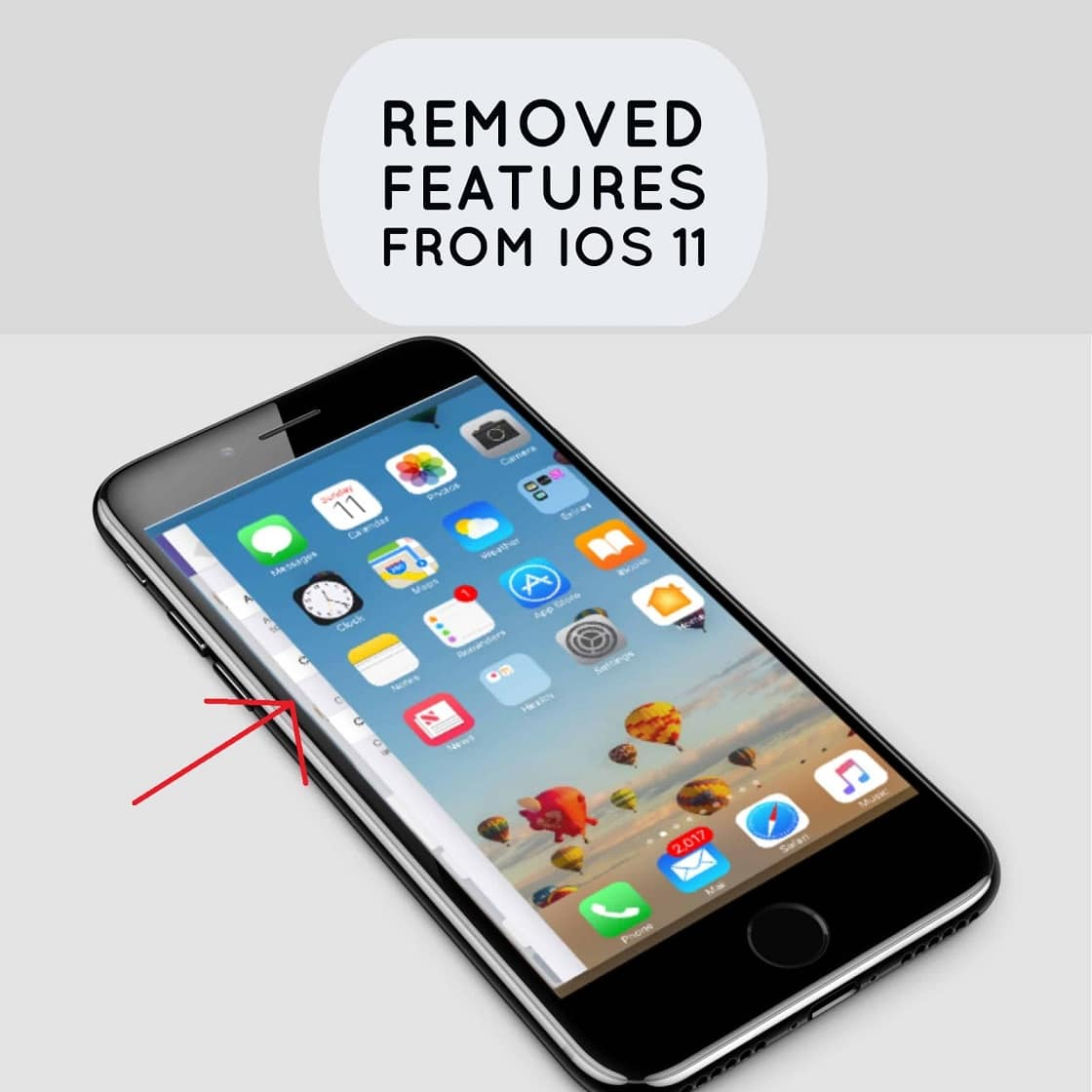You will not find some features in iOS 11 which existed in previous iOS version. Let's check out 6 iOS features that Apple has removed from iOS 11.