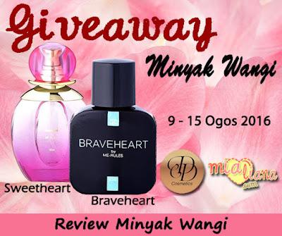 Sweetheart oleh DD Cosmetics Mesra Solat!