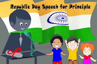 Republic Day Speech for Principle in Hindi English Marathi