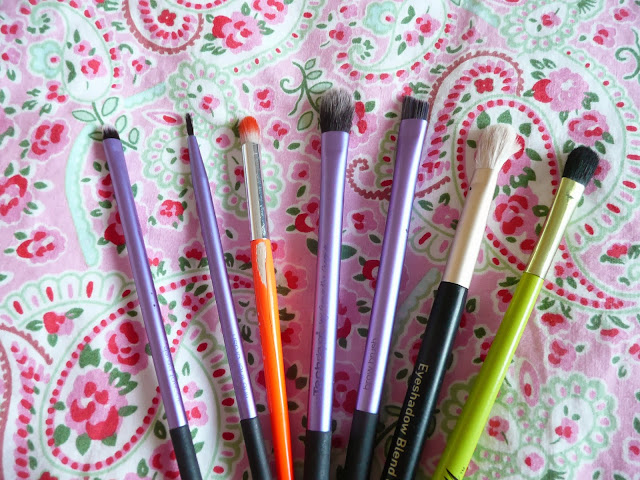 Favourite Eye Makeup Brushes Real Techniques Models Own No7 Barry M