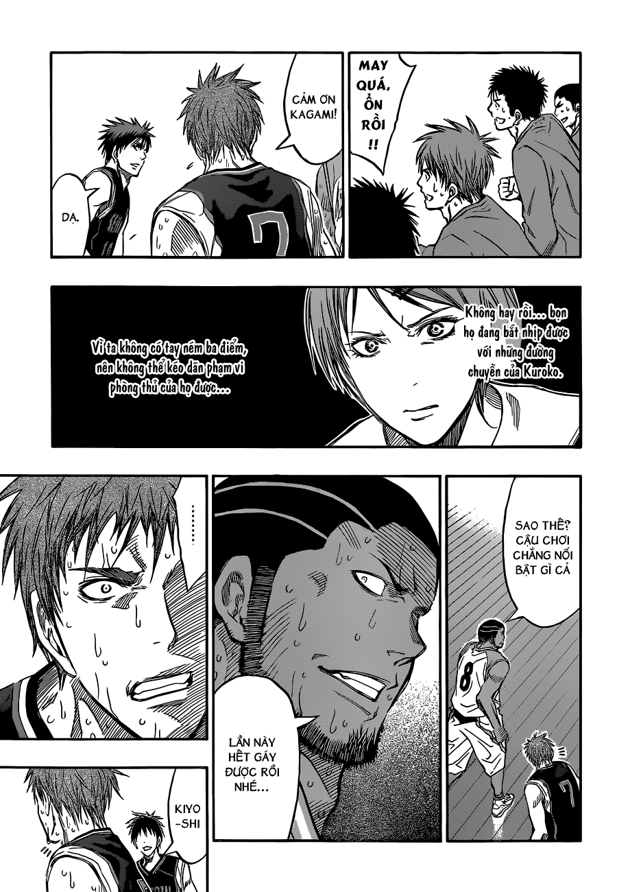 Kuroko No Basket chap 256 trang 8