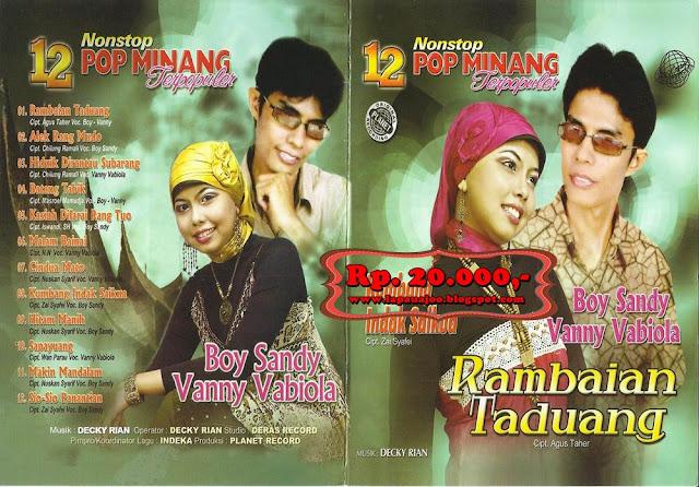 Boy Shandy & Vanny Vabiola - Rambaian Taduang (Album 12 Nonstop Pop Minang Terpopuler)