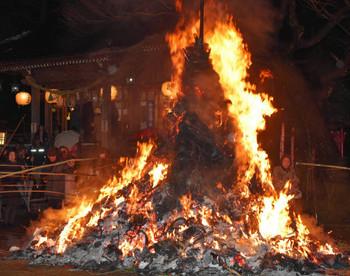 伊勢玉の火祭 延命餅 伊勢玉神社
