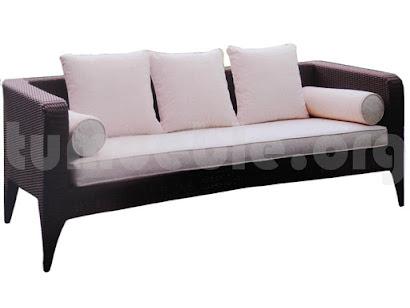 sofa 3 plazas rattan sintetico 6083
