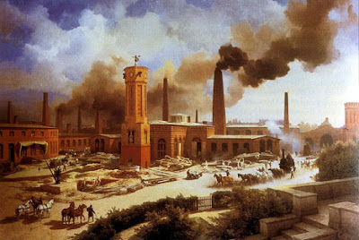 The impact of the industrial revolution in the field of