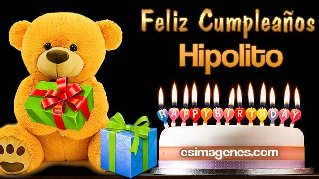 Feliz cumpleaños Hipolito