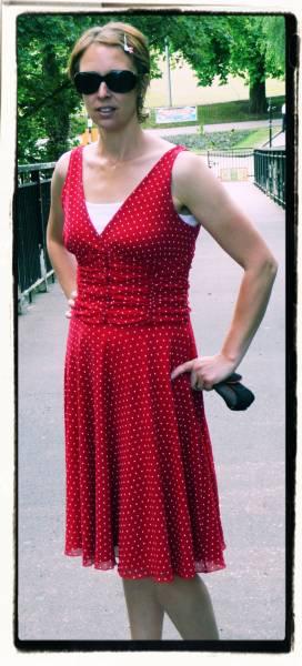 PPPPPolka Face: OOTD Red Polka Dot Dress
