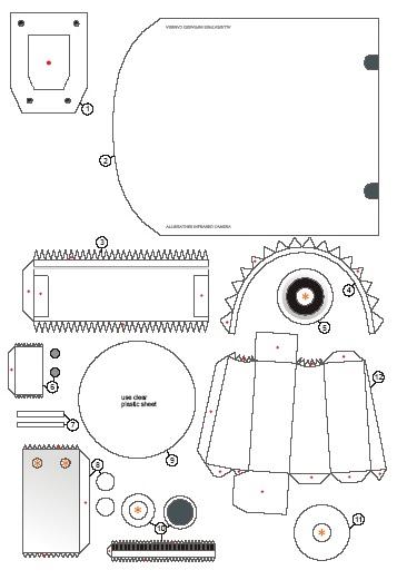 DIY : Membuat CCTV mainan dengan Kertas ~ Blog edukasi