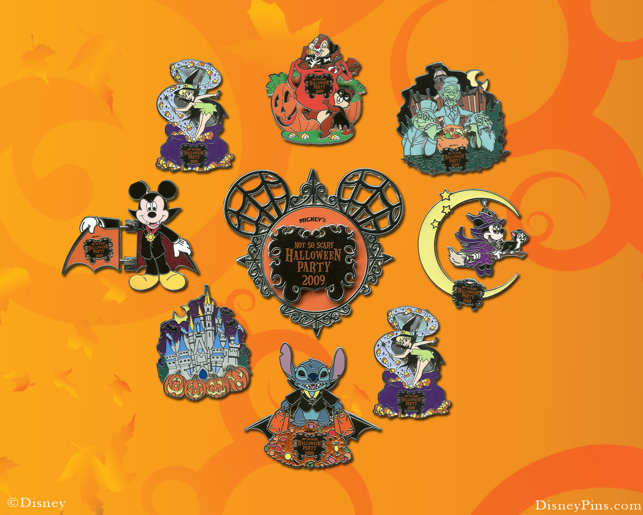 Free Halloween 2013 Backgrounds Wallpapers: Free Desktop Wallpaper: Disney Halloween Wallpaper