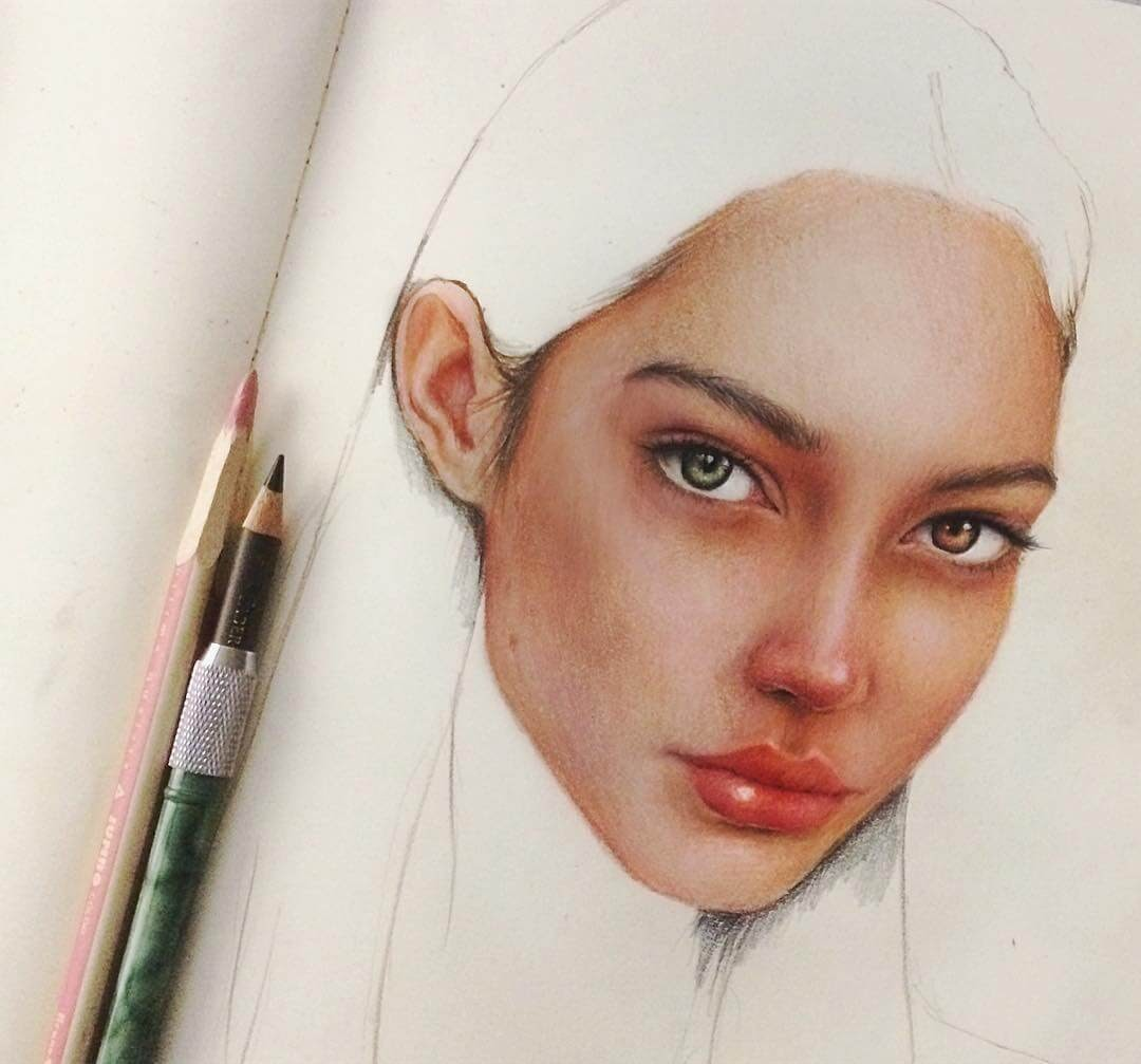 09-Marat-Utamuratov-WIP-Realistic-Portrait-Sketches-www-designstack-co