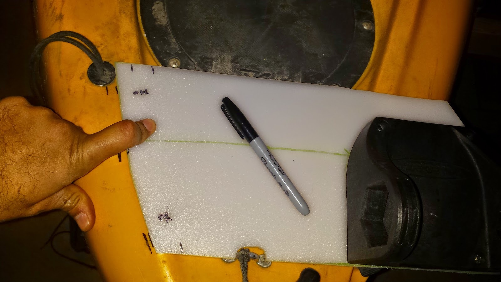 FishxScale: DIY Power Pole Micro Anchor Mount on Hobie
