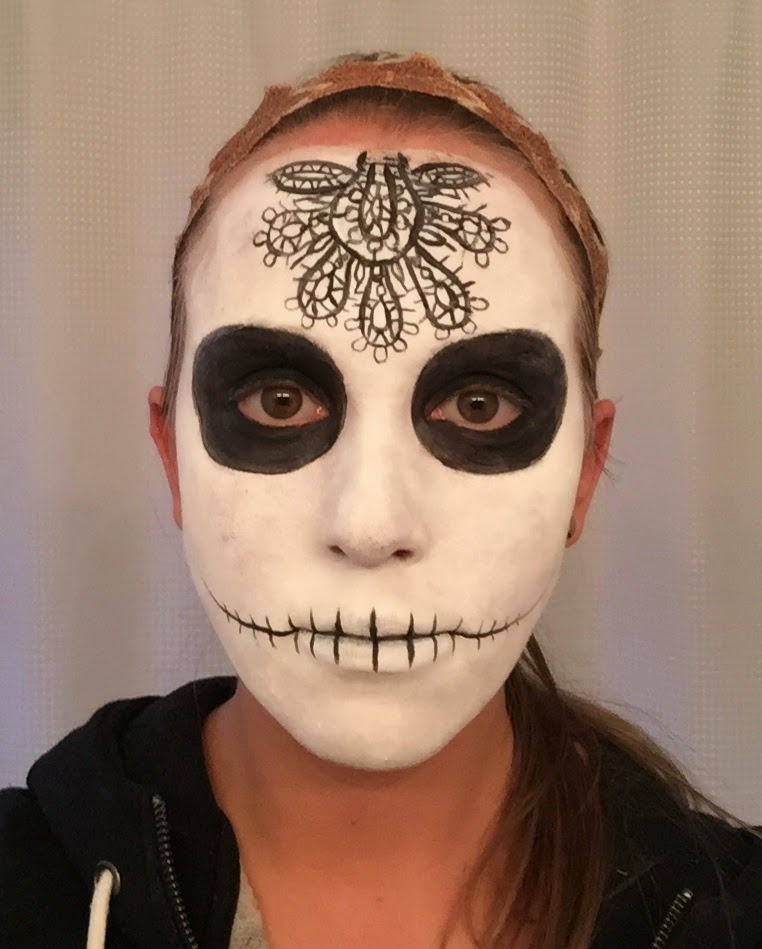 Erica S Diy Work Sugar Skull Face Paint