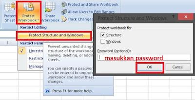 Cara Menambah Perlindungan Extra Pada Workbook Mu Di Excel