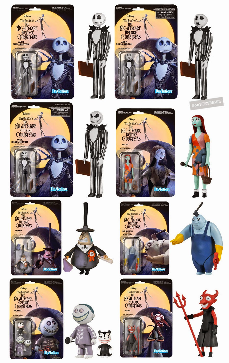 Reaction Figures Nightmare Before Christmas From Funko We are an independent pizza store which is proudly using quality local ingredients. reaction figures nightmare before