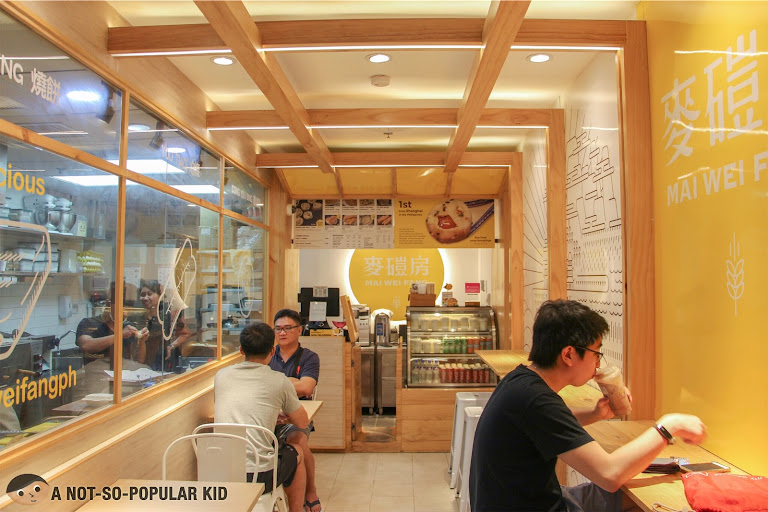 Interior of Mai Wei Fang in Robinsons Place Manila