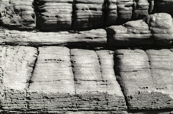 Goa, Agura Beach, rochers, © L. Gigout, 1990