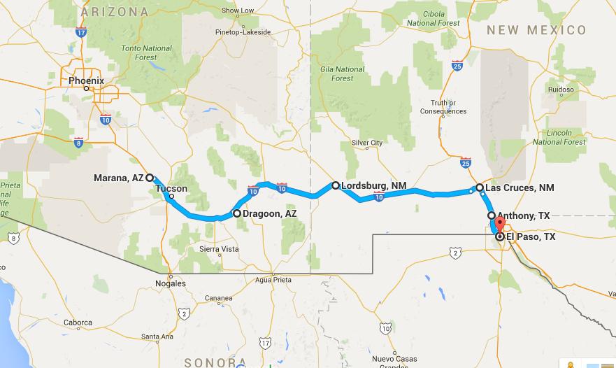 Jason Alan Griffin The Blog AZ To TX Via NM River In The Rio - World map rio grande river