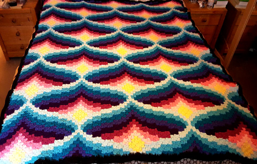 Amazing Blanket by Jo Watson‎ - Free Graph