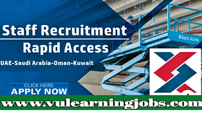 Rapid Access llc || Career Opportunities || Jobs In Middle East