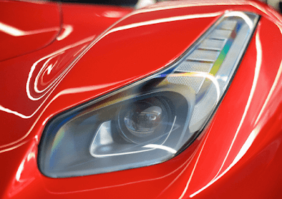 Ferrari LaFerrari headlight