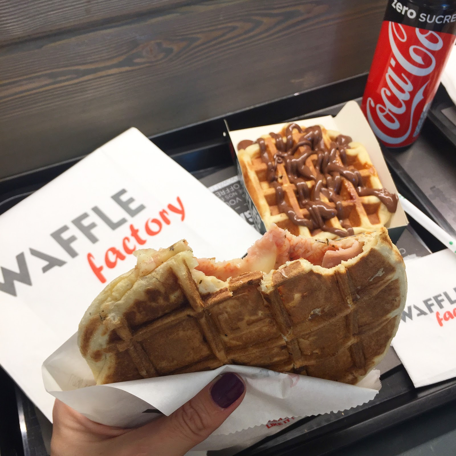 waffle factory rosny 2 les petites bulles de ma vie