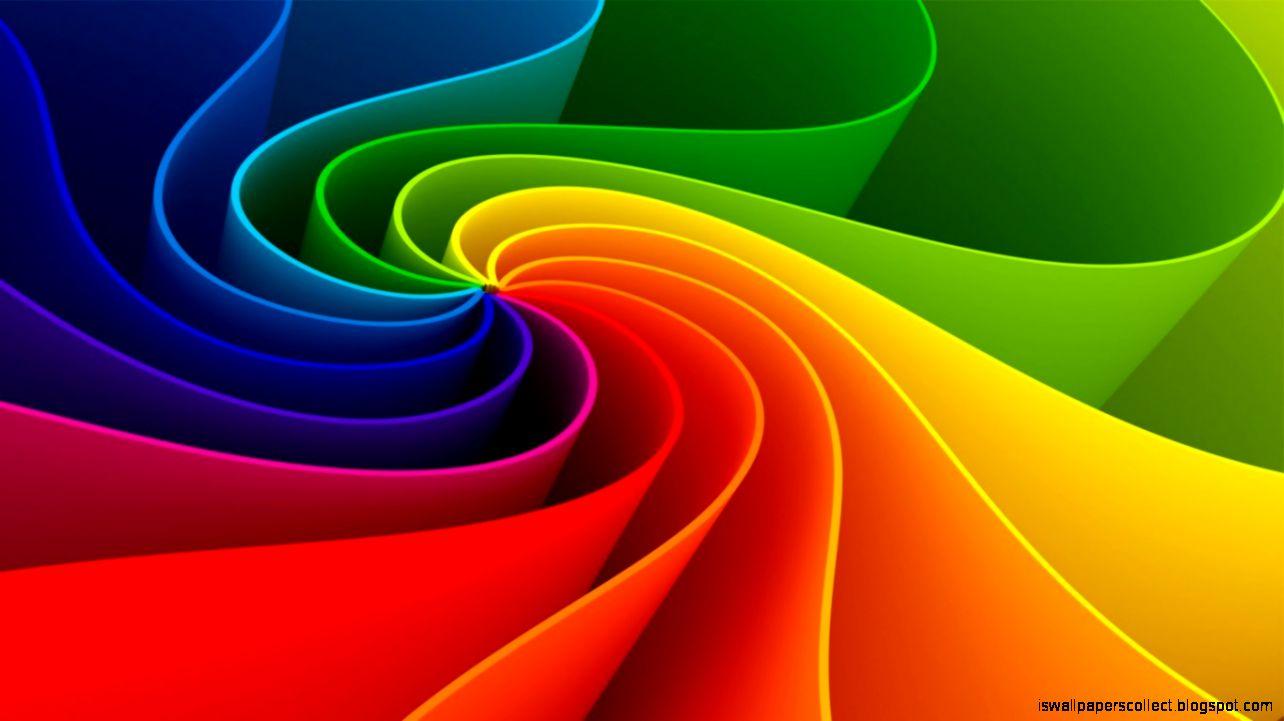 3D Backgrounds Rainbow
