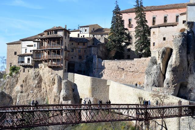 cuenca españa spain casas colgadas hanging houses paradores